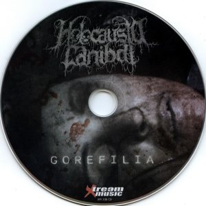 Holocausto Canibal - Gorefilia cover art
