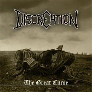 Discreation - The Great Curse cover art