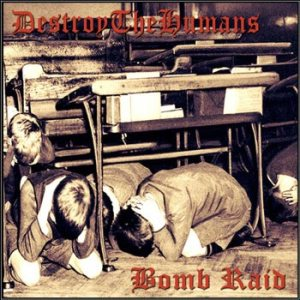 DestroyTheHumans - Bomb Raid cover art