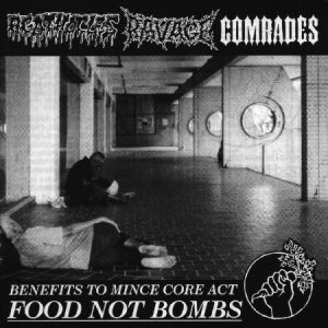 Agathocles - Benefits to Food Not Bombs (split with Ravage & Comrades) cover art