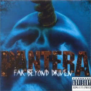 Pantera - Far Beyond Driven cover art