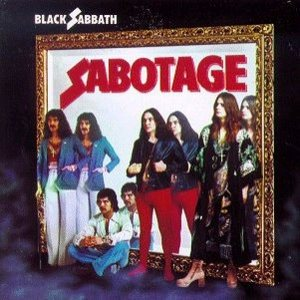 Black Sabbath - Sabotage cover art