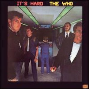 The Who - It's Hard cover art