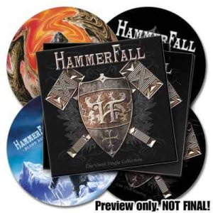 Hammerfall - The Vinyl Single Collection cover art