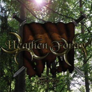 Heathen Foray - Forest cover art