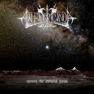 Alfa Eridano Akhernar - opening the immortal portals cover art