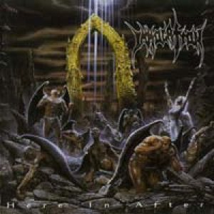 Immolation - Here in After cover art