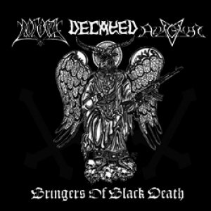 Decayed / Azaghal - Bringers of Black Death cover art