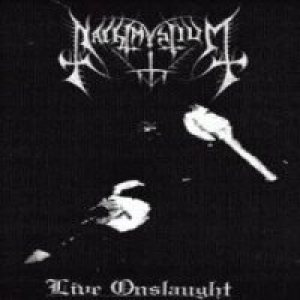 Nachtmystium - Live Onslaught cover art