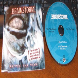 Brainstorm - Before the Dawn cover art