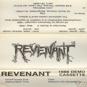 Revenant - Asphyxiated Time cover art
