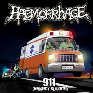 Haemorrhage / Gutalax - 911 (Emergency Slaughter) / Shit Evolution cover art