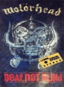 Motorhead - Deaf Not Blind cover art