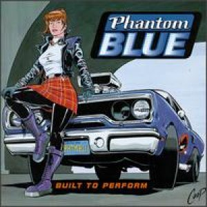 Phantom Blue - Built to Perform cover art