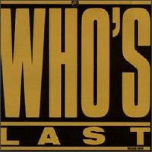 The Who - Who's Last cover art
