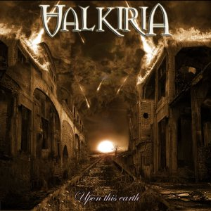 Valkiria - Upon This Earth cover art