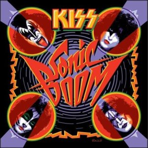Kiss - Sonic Boom cover art