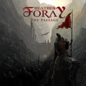 Heathen Foray - The Passage cover art