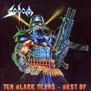 Sodom - Ten Black Years - Best of cover art