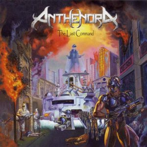 Anthenora - The Last Command cover art