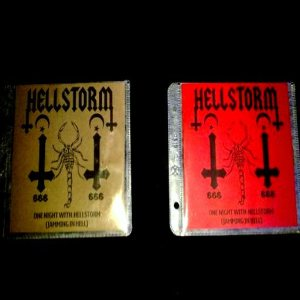 Hellstorm - One Night With Hellstorm (Jamming in Hell) cover art