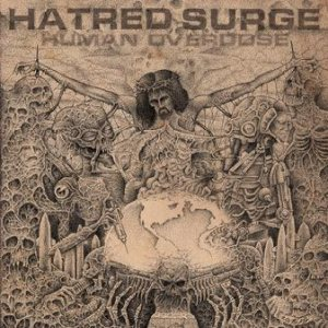Hatred Surge - Human Overdose cover art