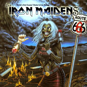The Iron Maidens - Route 666 cover art