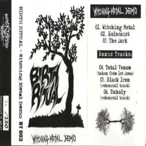 Birth Ritual - Witching Metal cover art