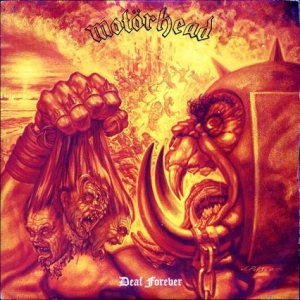 Motorhead - Deaf Forever cover art