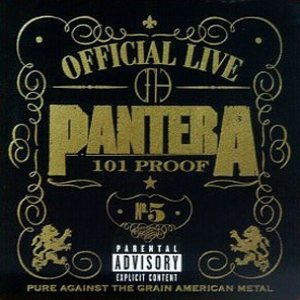 Pantera - Official Live: 101 Proof cover art