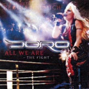 Doro - All We Are - the Fight cover art