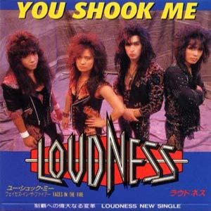 Loudness - You Shook Me cover art