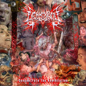 Deathguy - Concentrate the Annihilation cover art