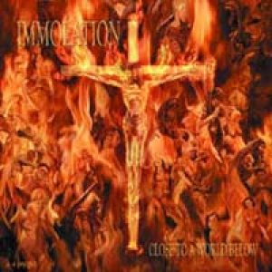 Immolation - Close to a World Below cover art