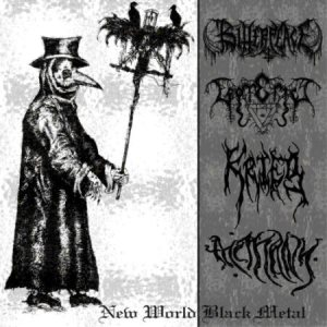 Bitter Peace - New World Black Metal cover art