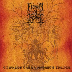 Fiends at Feast - Towards the Baphomet's Throne cover art