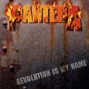 Pantera - Revolution Is My Name cover art