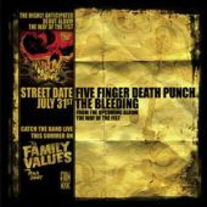 Five Finger Death Punch - The Bleeding cover art