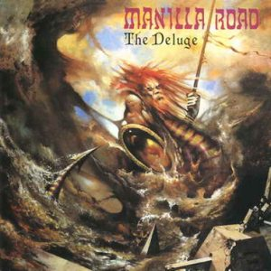 Manilla Road - The Deluge cover art