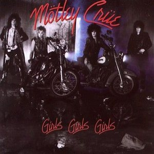 Mötley Crüe - Girls, Girls, Girls cover art