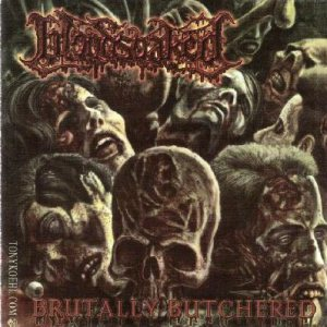 Bloodsoaked - Brutally Butchered cover art