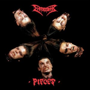 Dismember - Pieces cover art