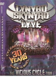 Lynyrd Skynyrd - Lyve!  the Vicious Cycle Tour cover art