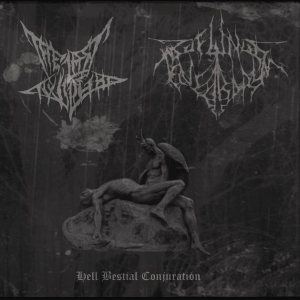 The Last Twilight / Profundis Tenebrarum - Hell Bestial Conjuration cover art