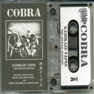 Cobra - Kamikaze Tapes: the Official Bootleg cover art