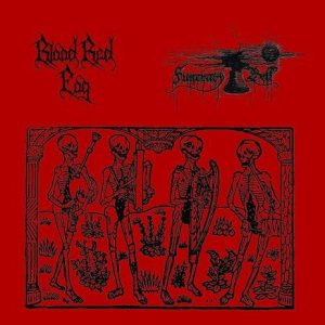 Blood Red Fog - Blood Red Fog / Funerary Bell cover art