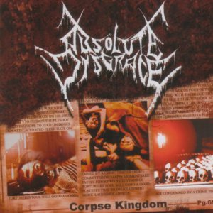 Absolute Disgrace - Corpse Kingdom cover art