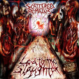 Scattered Remains - Led to the Slaughter cover art