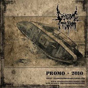 Cryogenic Implosion - Promo 2010 cover art