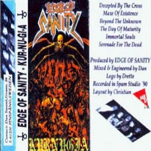 Edge of Sanity - Kur-Nu-Gi-A cover art